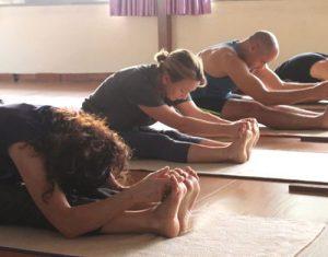 yoga asanas class